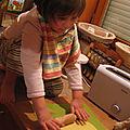 Pâte feuilletée 3/4: le goûter: emporte pièce de pâte feuilletée