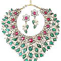 "Amrapali, jaipur. ""the 'sadabhar – evergreen' necklace"