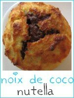 gâteaux noix de coco - nutella - index
