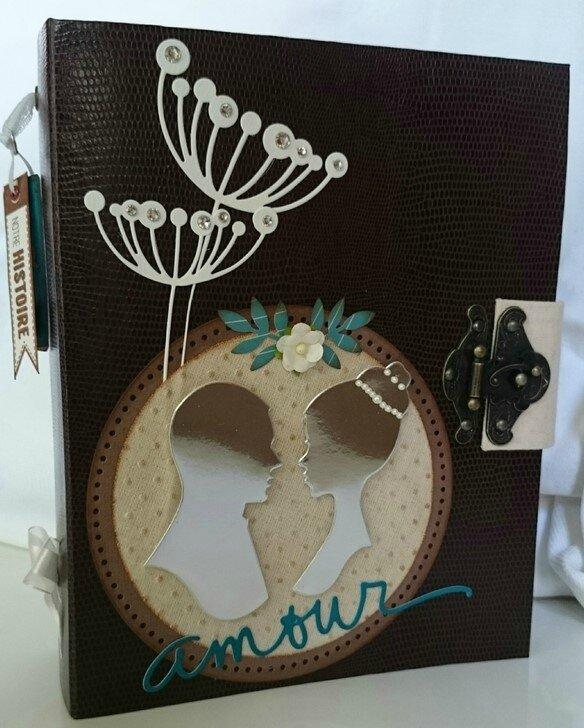 Album mariage avec tiroir