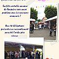 Rosière 2011 et rassemblement rosières de france à courpière les photos de jean-marie 11