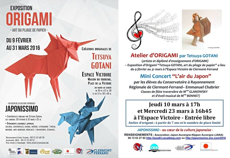 affiche Origami- Concert Japonissimo