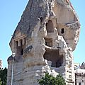 turquie cappadoce goreme cheminee ouverte
