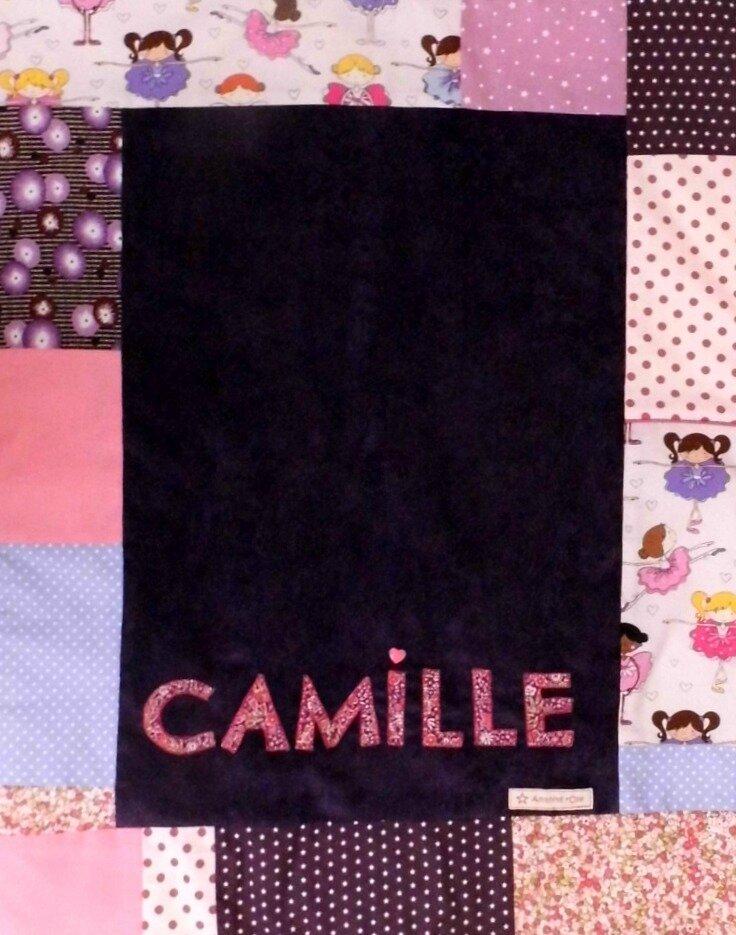 Couverture personalisée Camille