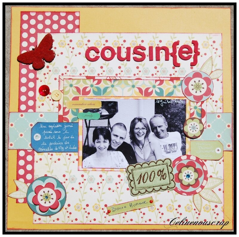 Cousin{e}