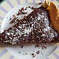 Tarte brownies aux noix