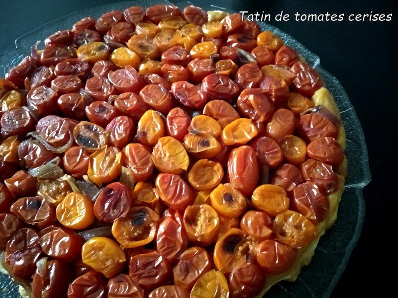 tatin de tomates cerises1