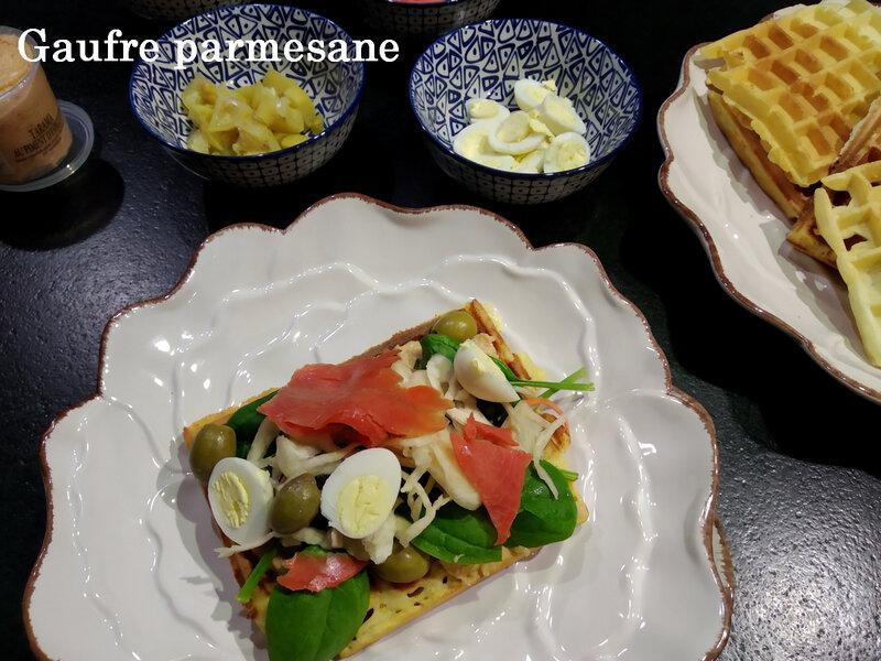 gauffre parmesane