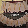 Boite happy birthday