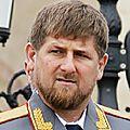 Ramzan kadyrov :