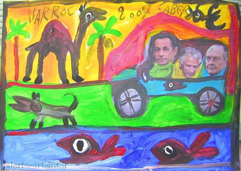JABER Voyage au Maroc 2007 30 x 42