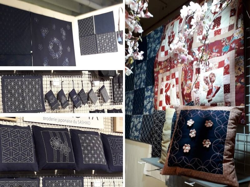 AEF 2019, broderies sashiko exposants