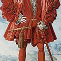 German-netherlandish school, 16th century, portrait of a man in red, c. 1530-50