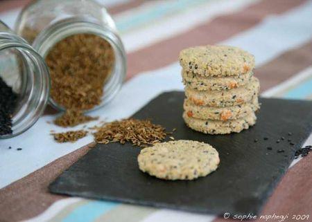 c biscuits cumins nigelle manchego a