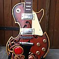 Guitare sculptee.....les paul