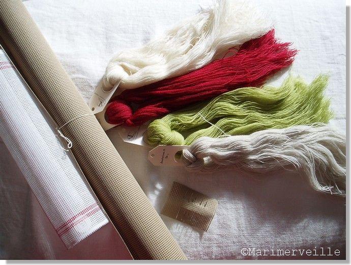 Fournitures pour la tapisserie