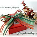 Les chocolats maison de Fraisiperles emballage cadeau