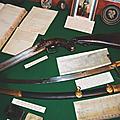 Exposition au château de frotté, chef chouan de normandie