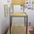 Grande chaise d'écolier