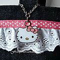 Sac Hello Kitty breloque