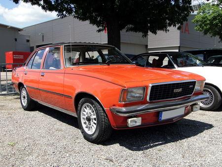 OPEL Commodore B GSE Berline 4 portes 1972 1977 RegioMotoClassica 2010 1