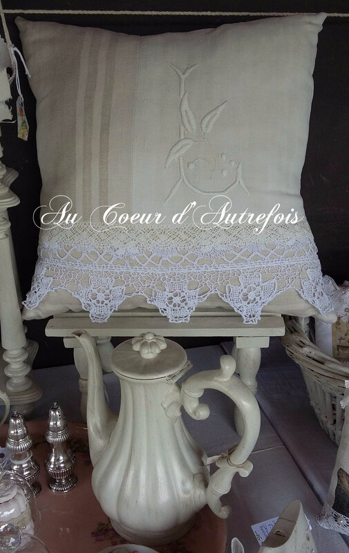 Coussin Au Coeur d'Autrefois SS