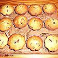Muffins cranberries