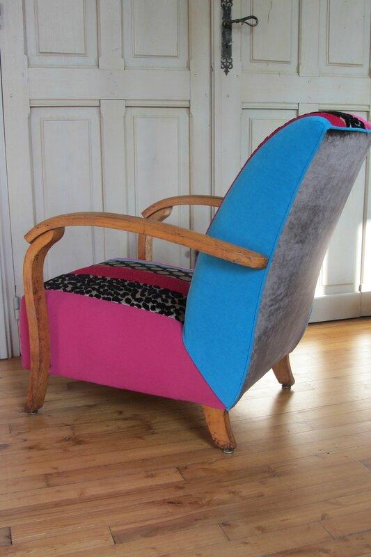changer le tissu d'un fauteuil tapissier d'ameublement à brest
