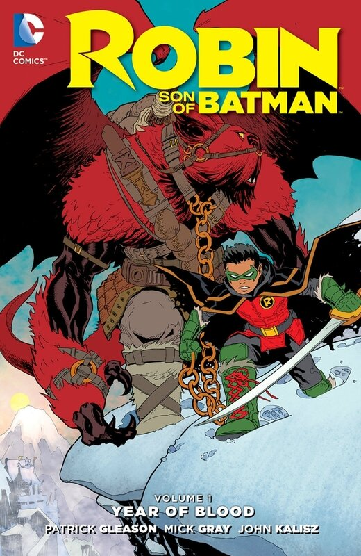 new 52 robin son of batman vol 1 year of blood HC