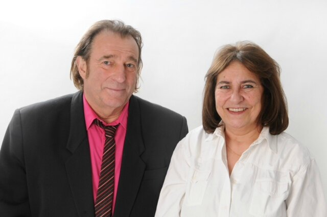 Francis Carray et Corinne Gô-Léonard
