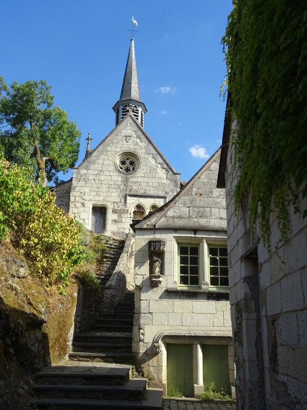 la chapelle Notre-Dame de Béhuard