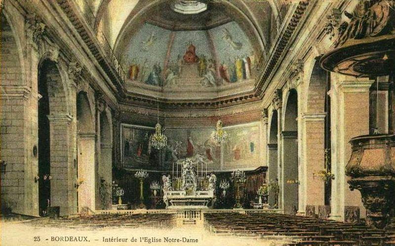 Eglise Notre Dame, le choeur
