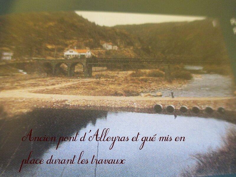 Ancien pont et gué Alleyras