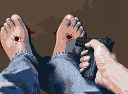 comment-se-tirer-une-balle-dans-le-pied