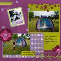 Camping au jardin