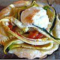 Tartelettes meringuées aux légumes