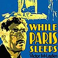 While paris sleep