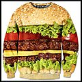Sweatshirt burger - beloved