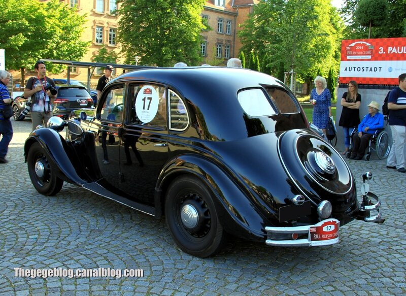 Bmw 326 berline de 1937 (Paul Pietsch Classic 2014) 02