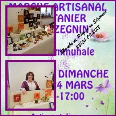 Marché Printannier Sézegnin 03.2013