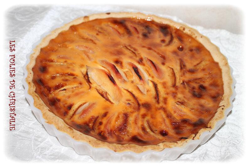 Tarte gourmande coings pommes 7