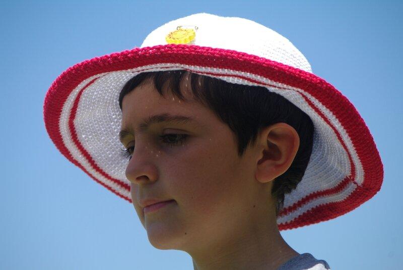 crocheter un chapeau de soleil