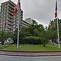 Rond-point à chambéry