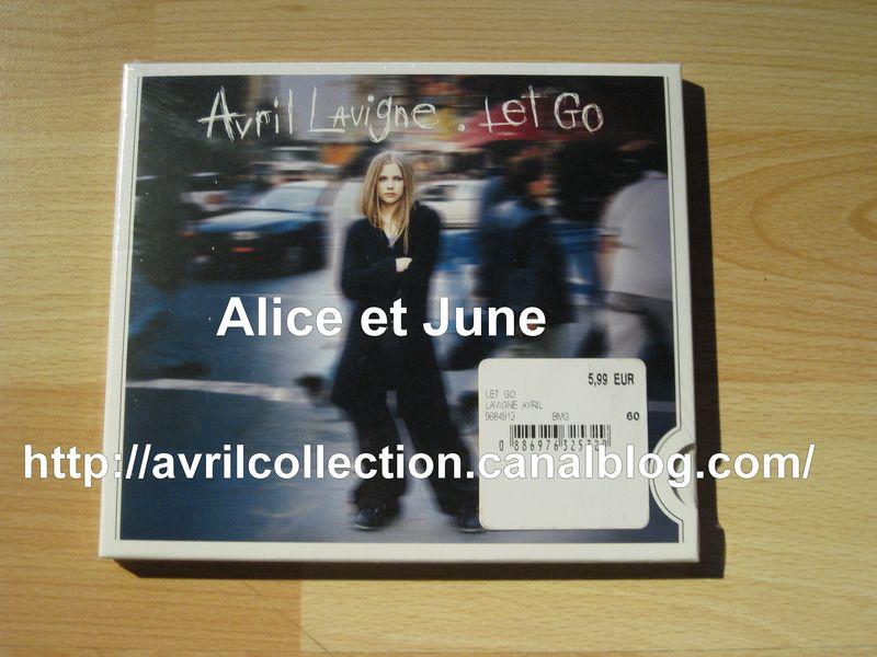 CD Let Go bordure blanche-réédition européenne (2009)