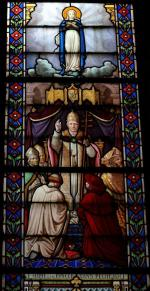 Dogme de l'Immaculée Conception, église du Sacré-Coeur, Lille
