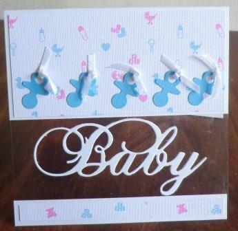 baby sucette bleuouvert