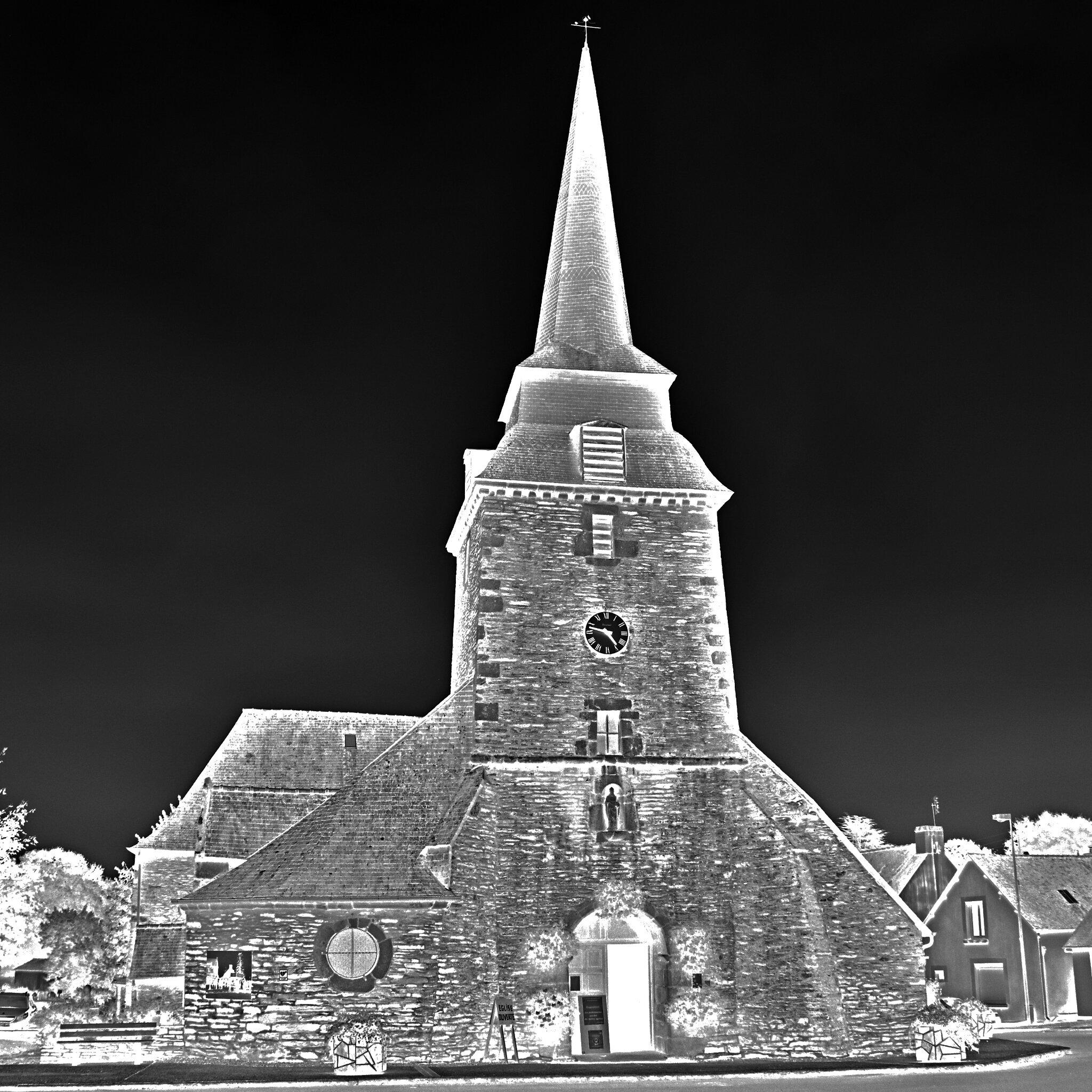 Journée du patrimoine 2020 à l'église de Saint-Thélo