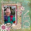 petite princesse des neige