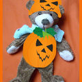 L'ours d'halloween