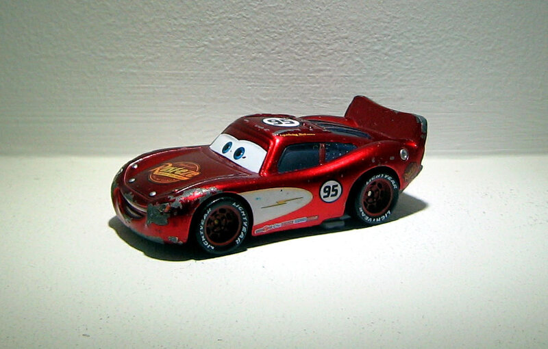 Flash mcqueen (Mattel Cars)